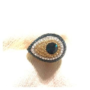 Jewelry - Greek Eye Cocktail Ring